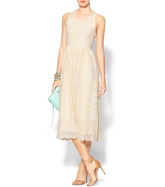 Sunday In Brooklyn Lace Midi Dress ($119)