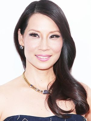 Get The Look: Lucy Liu's Violet Smoky Eye