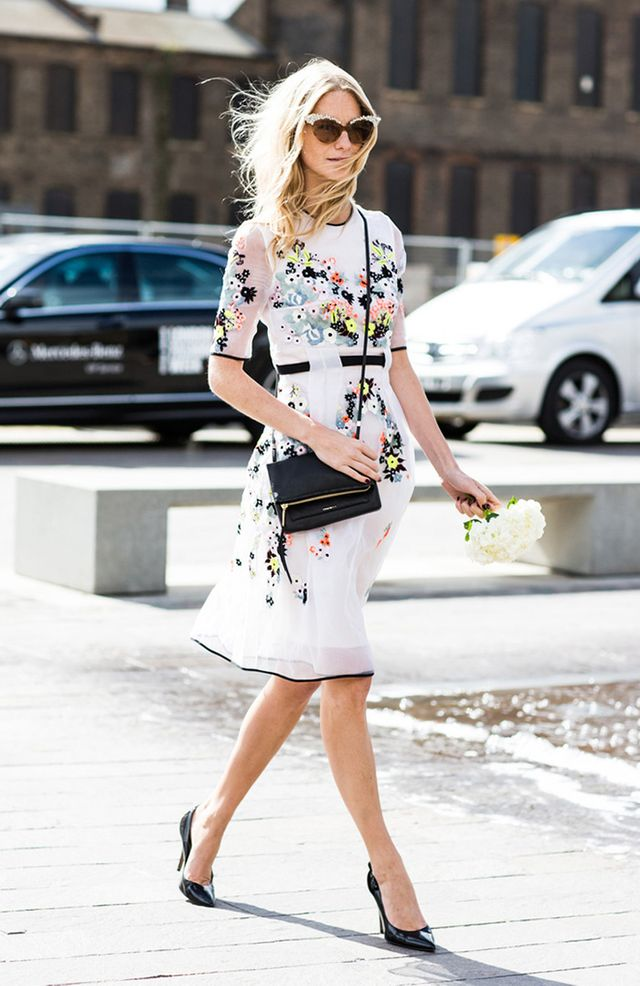 Tip of the Day: Floral Dress