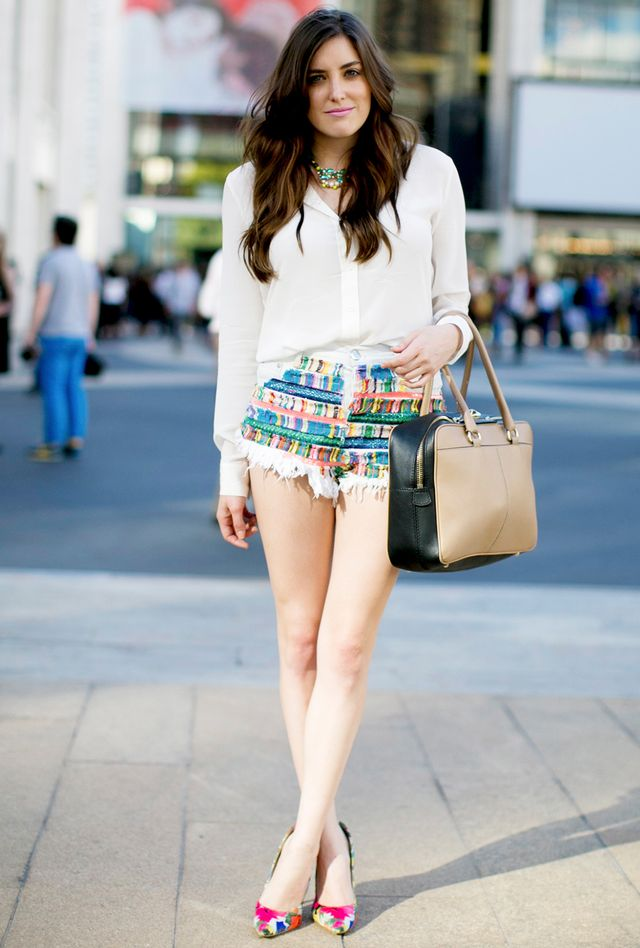 A great pair of high-waist shorts works wonders. 