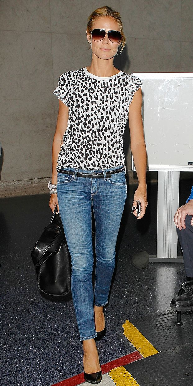 Cat Fancy: Heidi Klum's Perfect Animal-Print Tee