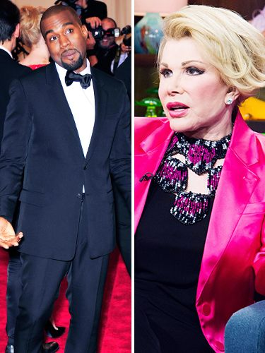 Guess Who Said These Outrageous Quotes: Kanye West or Joan Rivers
