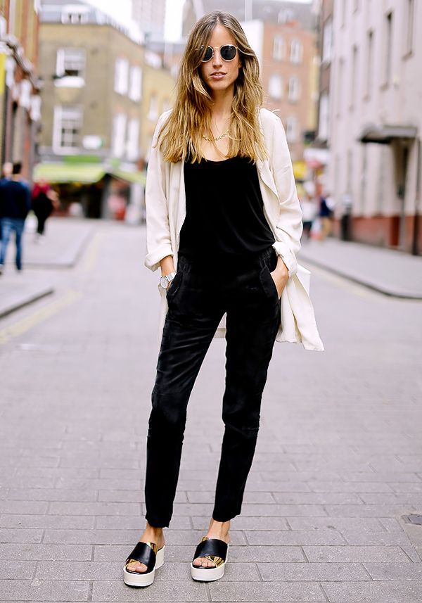 Get the Look:Vince Sleeveless Silk Jumpsuit ($405)