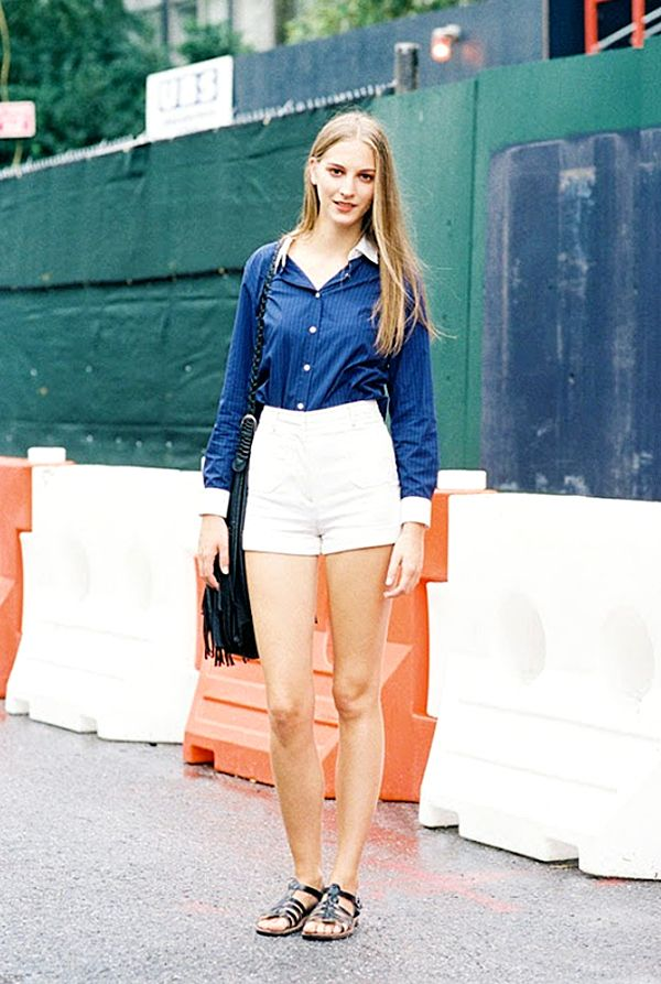 10 Stylish Ways To Wear Short Shorts