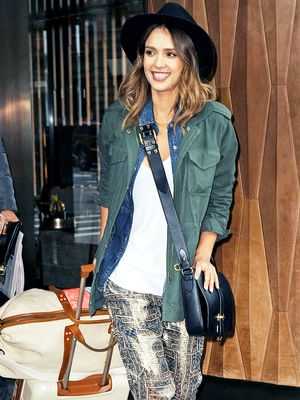 Jessica Alba: One Jacket, Five Ways