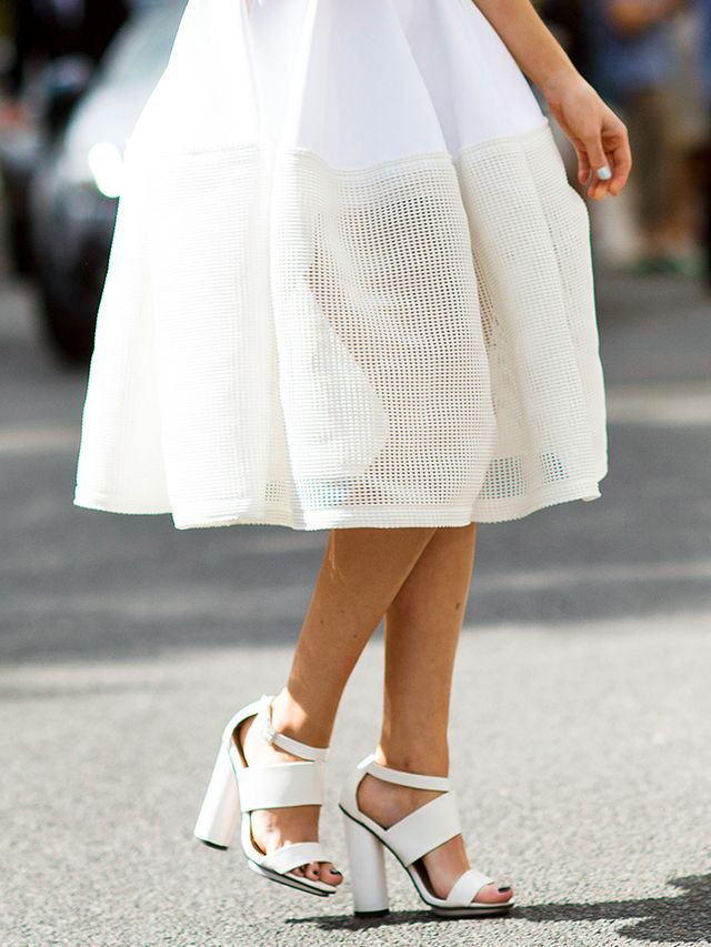 #TuesdayShoesday: Shop Our Favorite White Summer Sandals