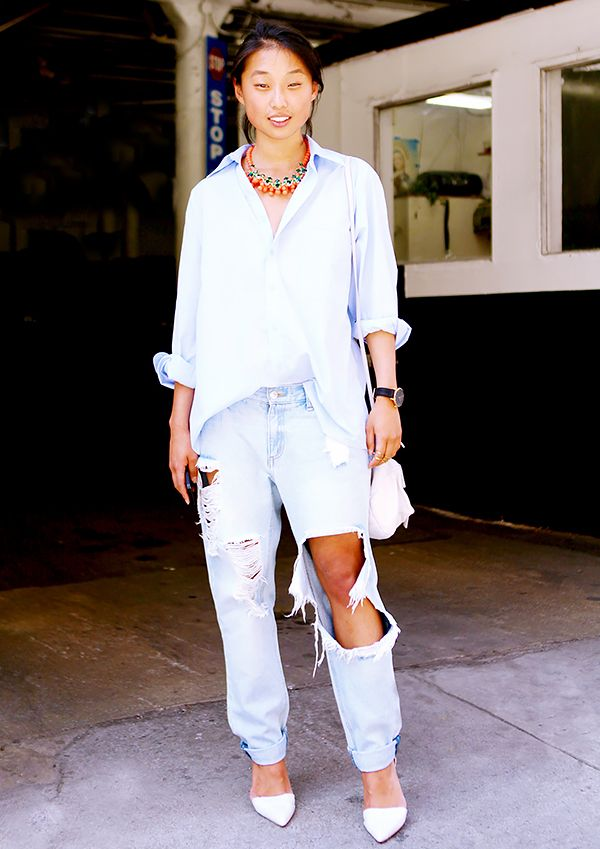 7 Truly Genius Ways To Wear Boyfriend Jeans | WhoWhatWear