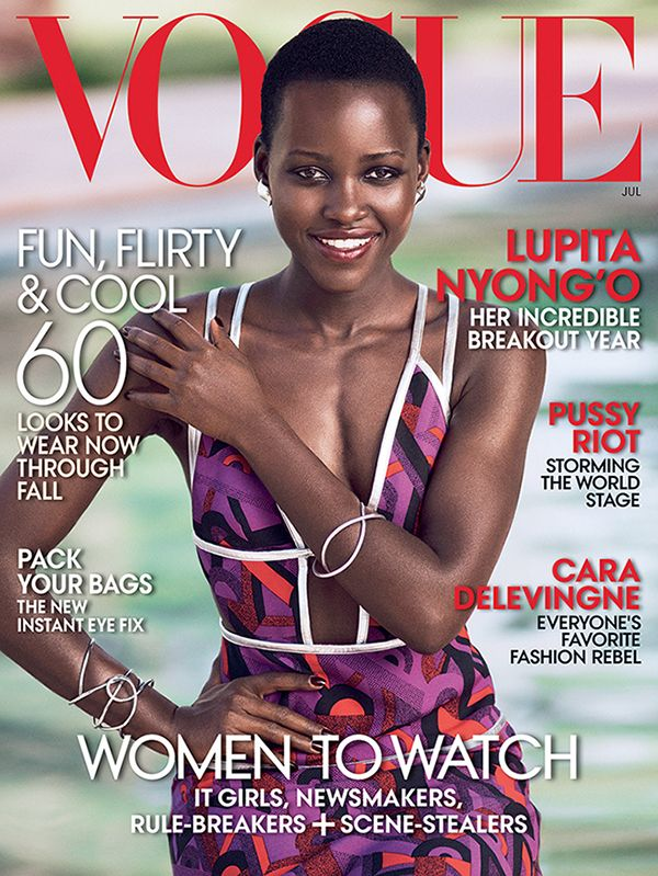 See Lupita Nyong'o's First-Ever Vogue Cover!
