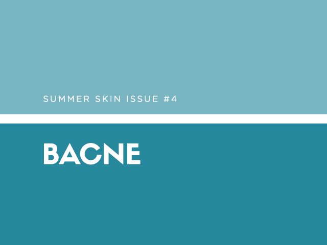 The why: It's not pretty, but someone has to talk about it. Back acne, or bacne, plagues many women throughout the year, but it's especially noticeable during the summer months when...