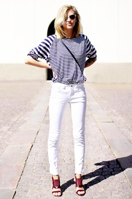 Get the Look: RtA Denim Knee-Slit Skinny Jeans ($225)