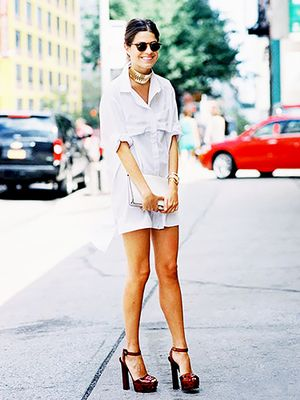 Trend Report: How To Wear A Shirt Dress For Summer