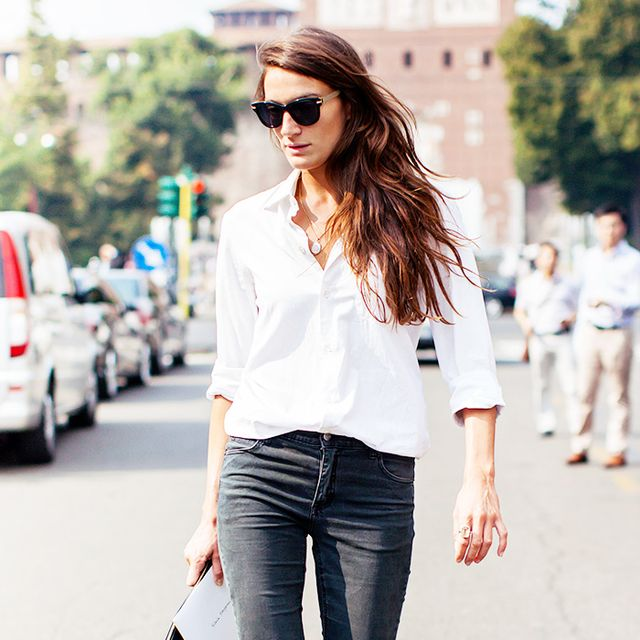 Tip of the Day: The French Way To Wear Your Button-Down Shirt
