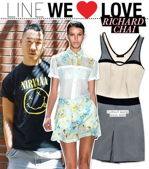 Richard Chai LOVE S/S 13