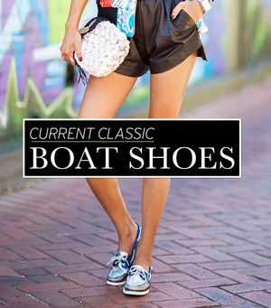 Shop These Stylish Riffs On The Classic Boat Shoe