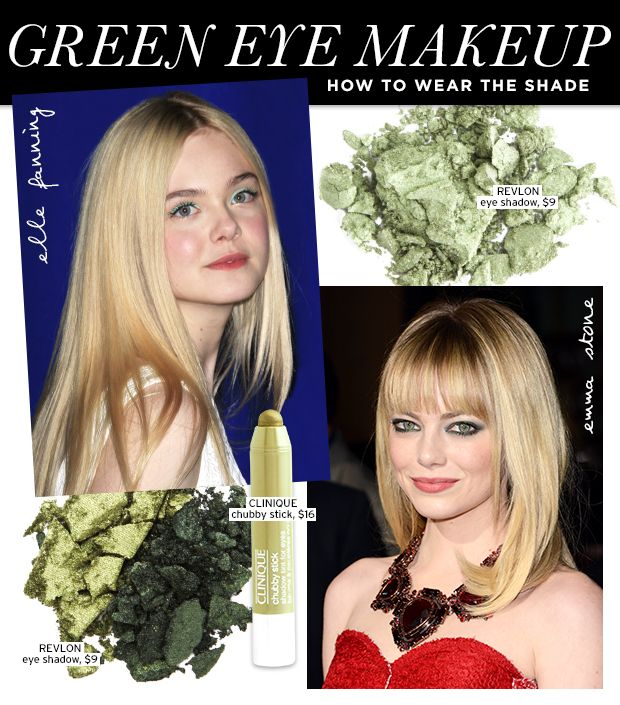 Envy-Inducing Green Eye Makeup