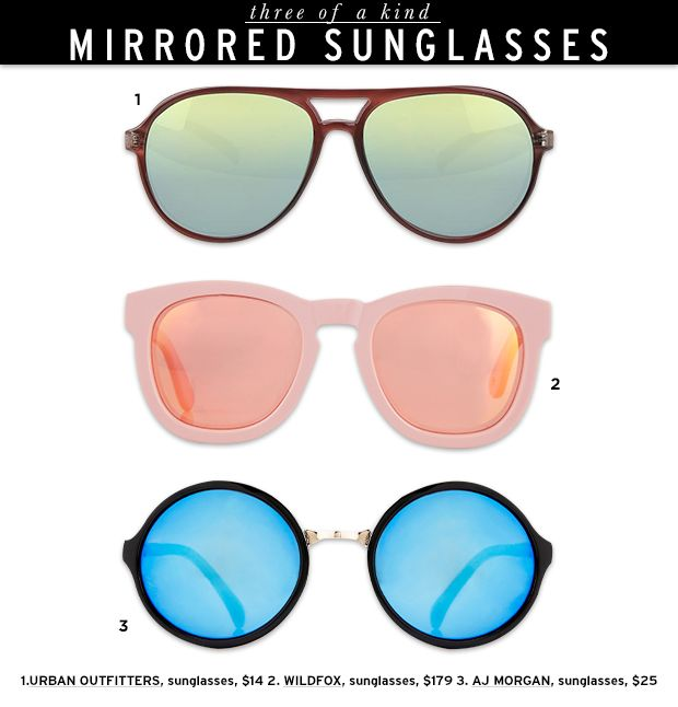 Get Ready For Summer With These Standout Mirrored Shades