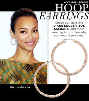 Frame Your Face With A Pair of Stylish Hoop Earrings