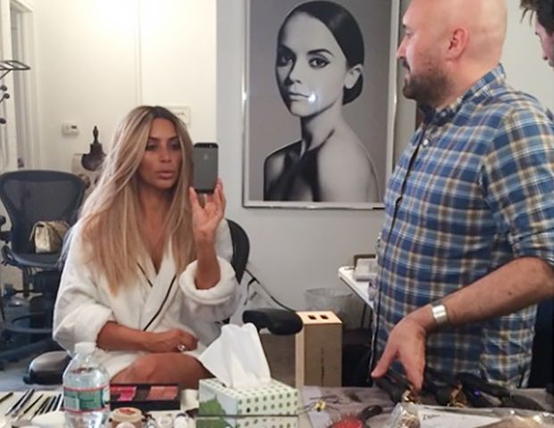 Kim Kardashian Is Back To Blonde!