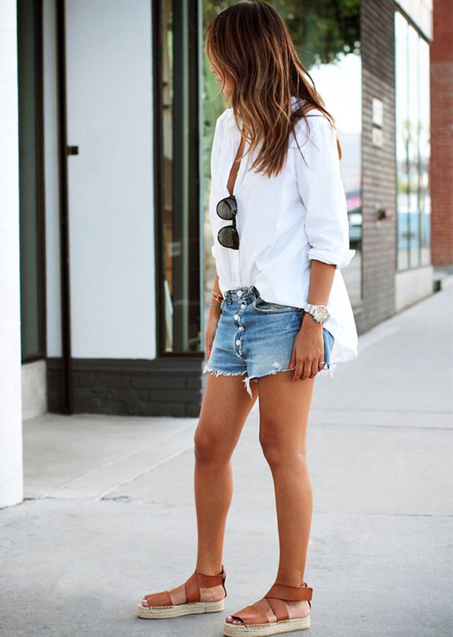 Easy Summer Outfits Using Only 3 Pieces Or Less