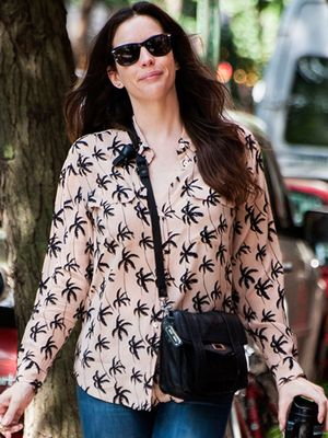 Liv Tyler Inspires Our Easy-Chic Weekend Look