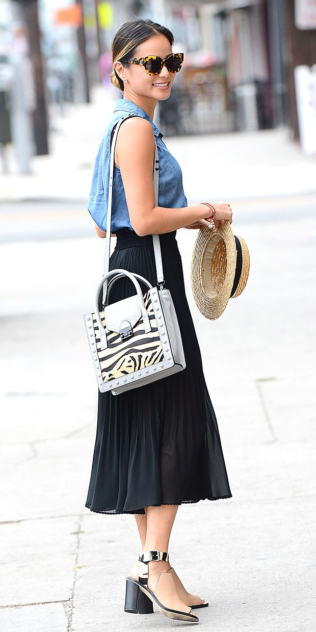 A Perfect Saturday Look From Jamie Chung