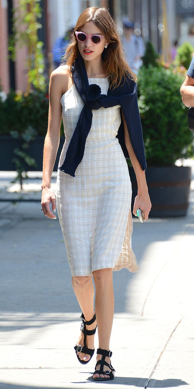 Alexa Chung Makes Preppy Dressing Look Cool