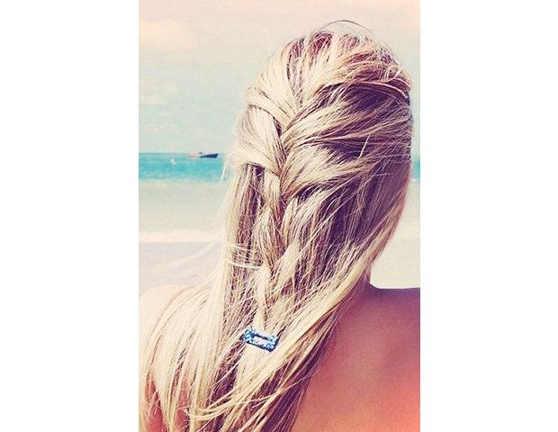 Loose Barrette Braid