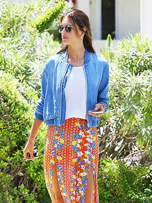 How To Master The Maxi Skirt