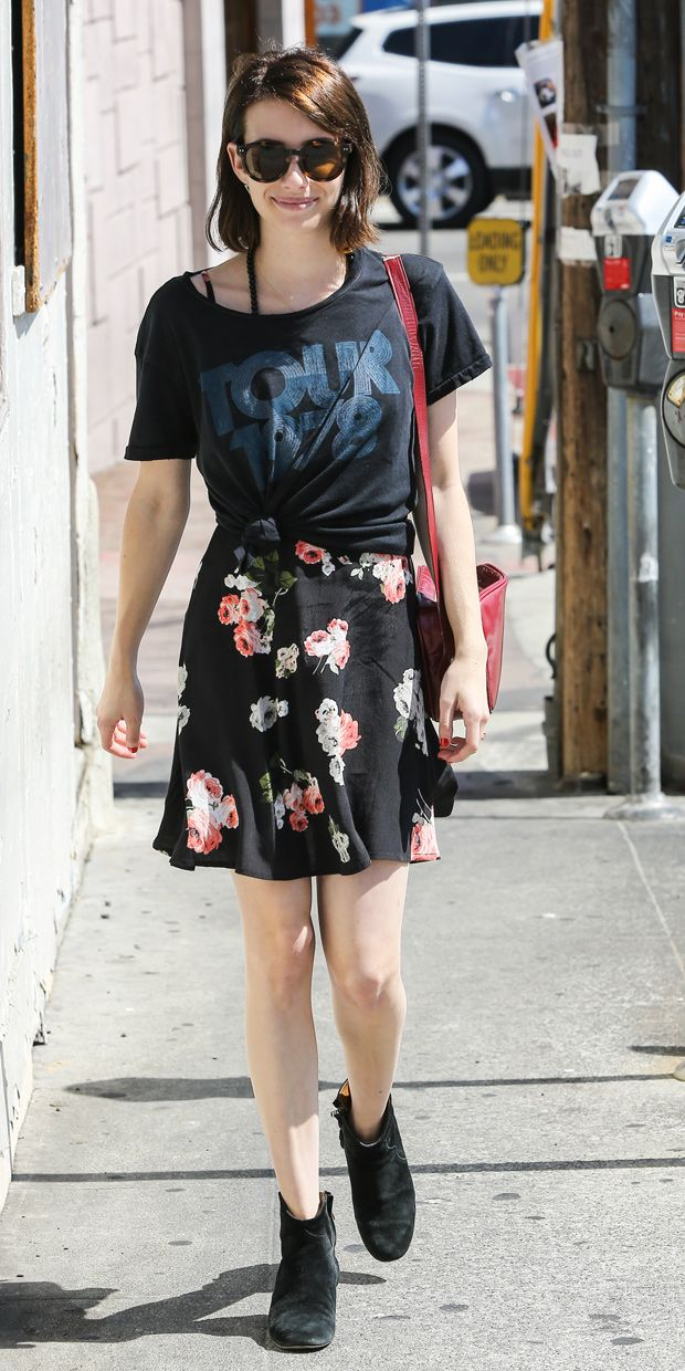 Emma Roberts Helps You Get The Most Mileage Out Of Your Summer Dress