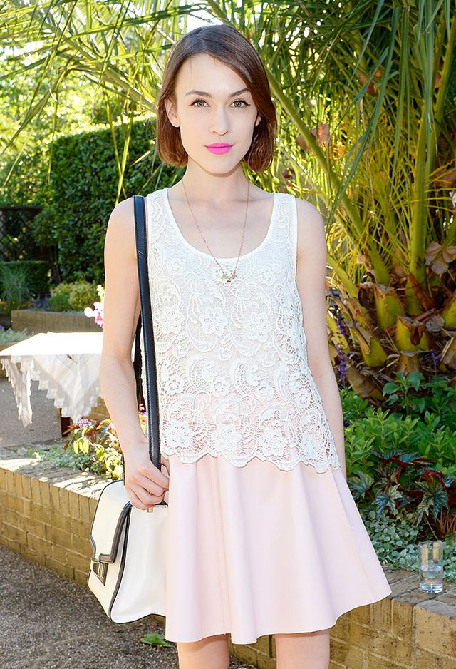 1. Romantic Tank + Circle Skirt