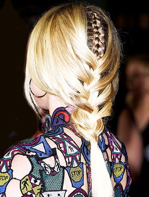 Get The Look: Diane Kruger's Next-Level Braid-Within-A-Braid