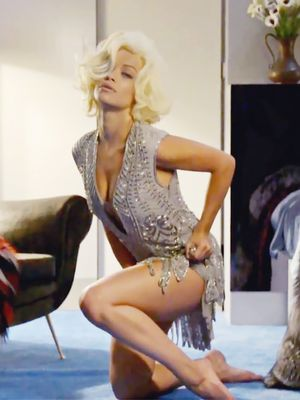 Rita Ora Looks Like Marilyn Monroe, Makes Us Do A Double-Take