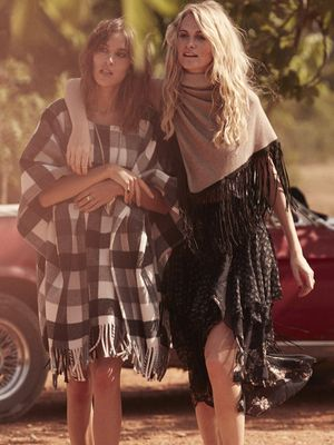 Alexa Chung & Poppy Delevingne Go On A Dreamy Road Trip