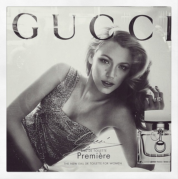 Blake Lively Looks Impossibly Gorgeous (Again) in New Gucci Campaign