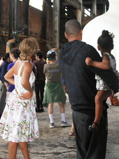 See Beyoncé And Blue Ivy's Matching Dolce & Gabbana Dresses