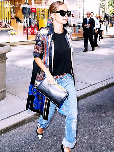 What's the best way to style boyfriend jeans this summer?