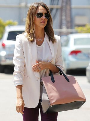 Jessica Alba Makes Workwear Look Effortlessly Chic