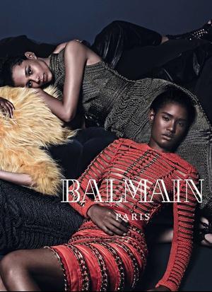 Balmain's F/W 2014 Campaign
