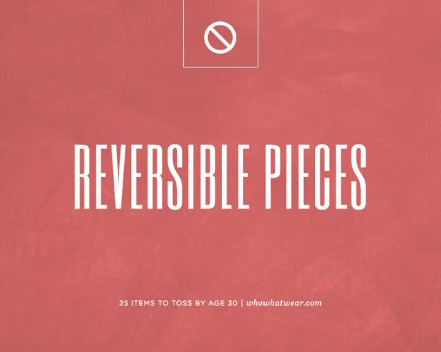 Reversible pieces.