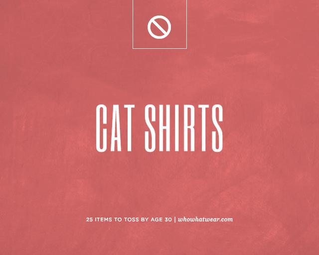 Cat shirts.