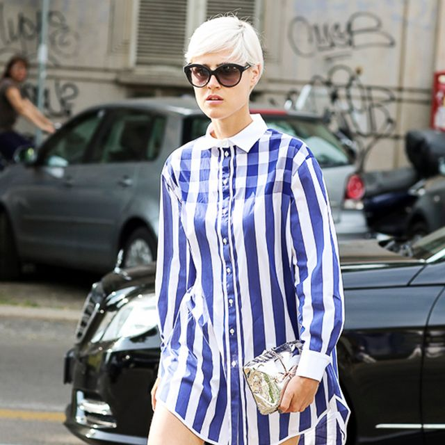 Tip Of The Day: How To Wear A Shirtdress Flawlessly