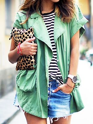9 Pieces To Wear With Your Favorite Denim Shorts