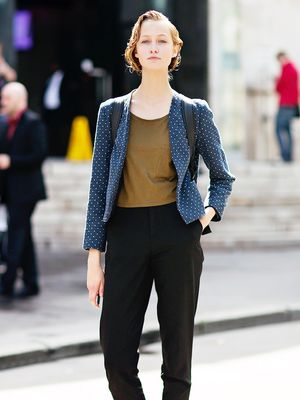 Tip Of The Day: The Right Way To Wear A Printed Blazer