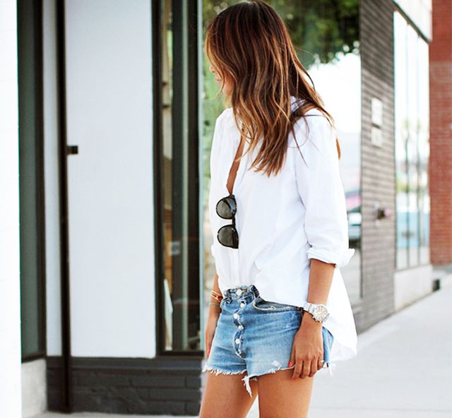 Five Tips For Making The Perfect Cutoff Denim Shorts | WhoWhatWear