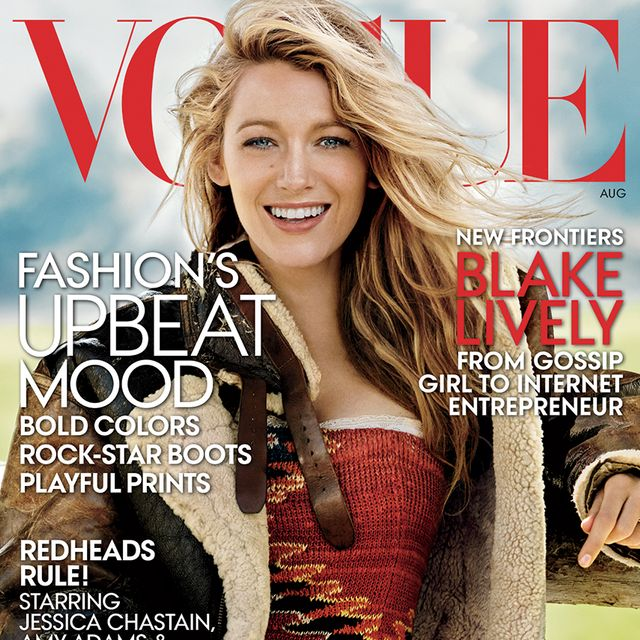 First Look: Blake Lively For Vogue