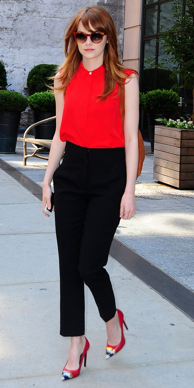 Let Emma Stone Inspire Your Latest 9-to-5 Look
