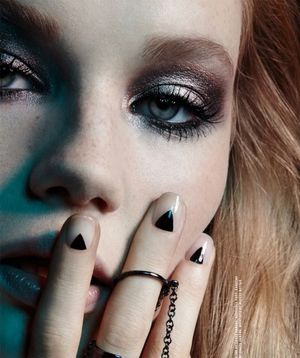 Dark And Dramatic Beauty Inspiration From Nylon Magazine