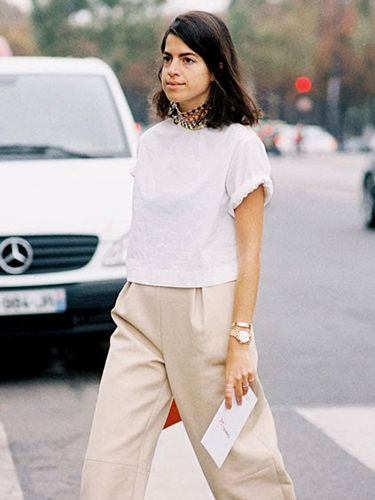 Tip Of The Day: How To Elevate A Simple T-Shirt
