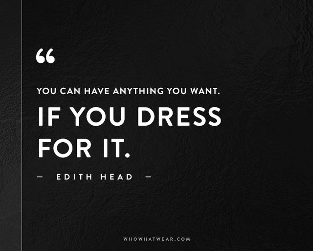 The 50 Most Inspiring Fashion Quotes Of All Time | WhoWhatWear AU