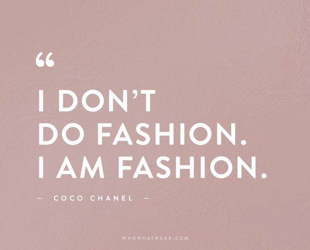 The 50 Most Inspiring Fashion Quotes Of All Time